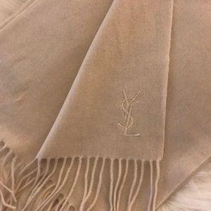 $595 Yves Saint Laurent Scarf + Gift Box & Wrap